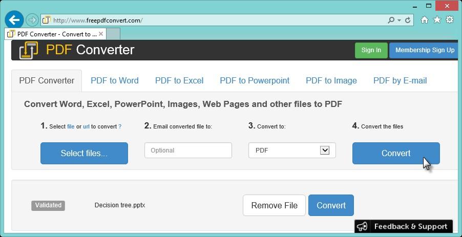 convertir rar en pdf en ligne
